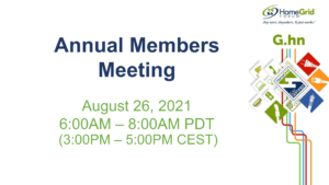 HomeGrid Forum Annual Member Meeting image